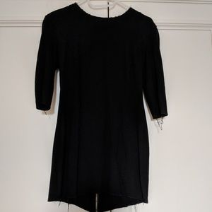 Bird by Juicy Couture Black 3/4 sleeve dress